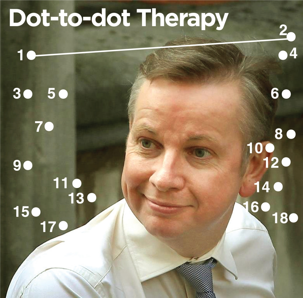 Gove dot the dots