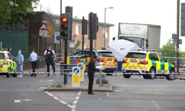 Woolwich attack crime scene