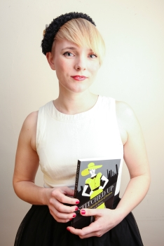 Tansy Hoskins, author of 'Stitched Up'. Credit:  Henna Malik