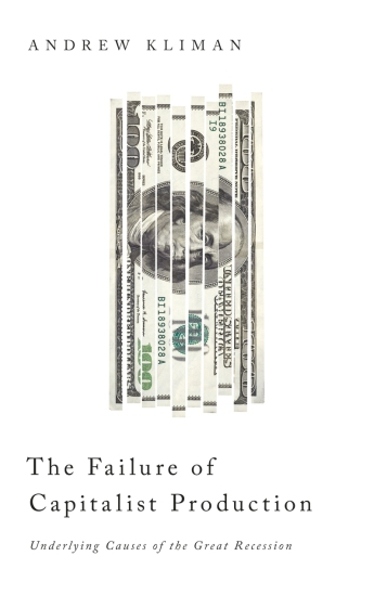 The Failure of Capitalist Production - 10% off at Pluto Press