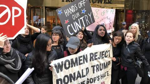 anti-trump-women